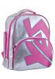 Фото - Серебристый школьный рюкзак для девочки YES T-34 Silver Rose