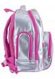 Фото 3 - Серебристый школьный рюкзак для девочки YES T-34 Silver Rose