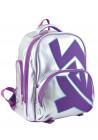 Фото - Серебристый рюкзак школьный каркасный YES T-34 Silver Purple