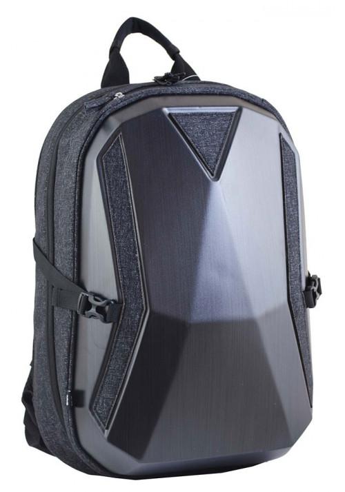 Черный комбинированный мужской рюкзак Stalwart