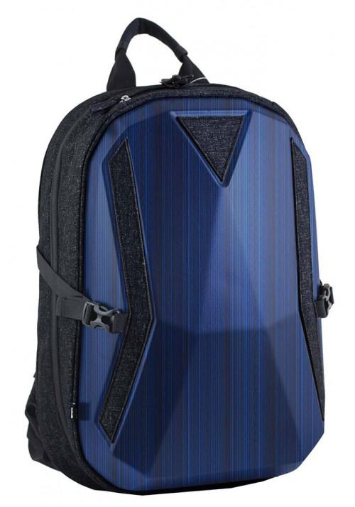Синий комбинированный мужской рюкзак  Stalwart