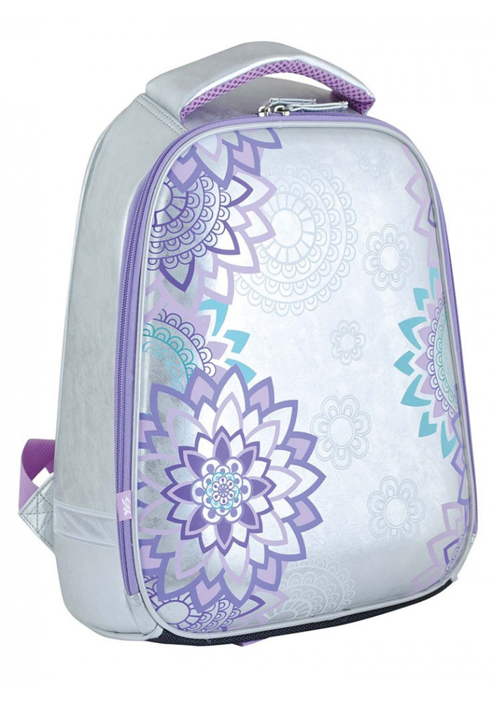 Каркасный рюкзак для девочки H-24 Lace - Фото спереди