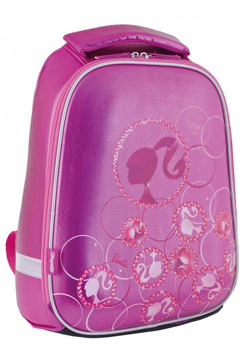 Сиреневый каркасный рюкзак школьный для девочки H-24 Barbie - Фото