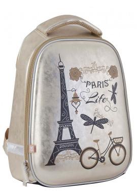Фото Стильный каркасный рюкзак школьный для девочки H-24 Paris - Картинка 1