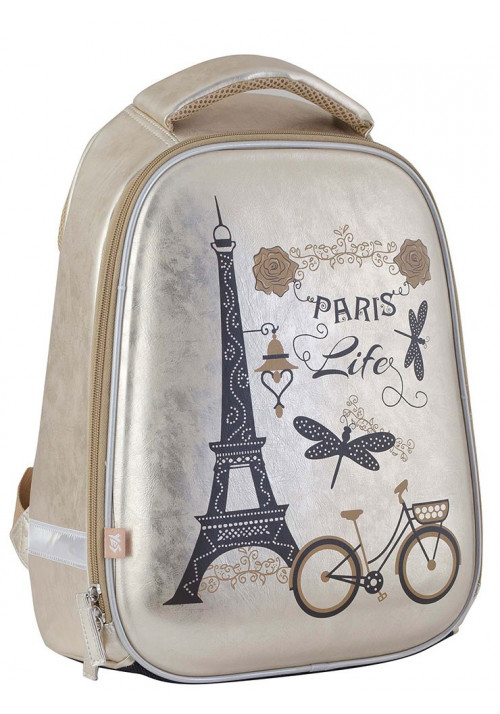 Стильный каркасный рюкзак школьный для девочки H-24 Paris - Картинка 1