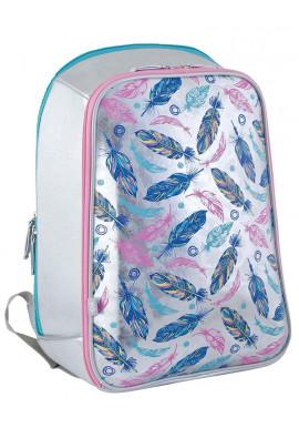 Фото Модный рюкзак каркасный для школы H-23 Feather - Картинка