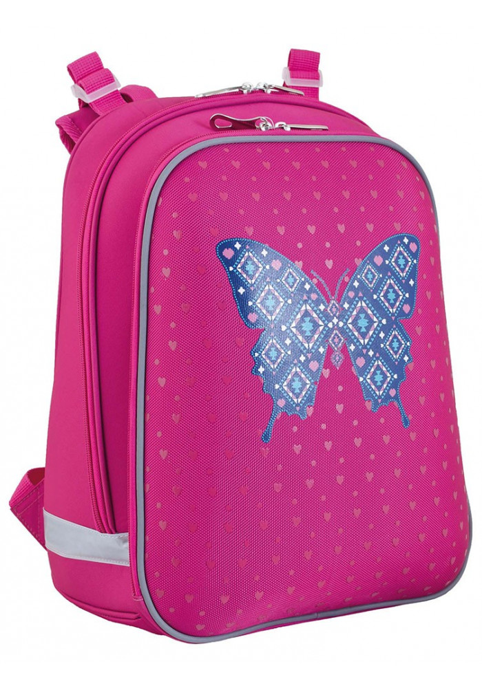 Рюкзак школьный для девочки YES H-12 Centre butterfly - Фото