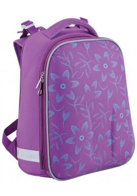 Фото Фиолетовый школьный рюкзак YES H-12 D68 Тracery - Фото