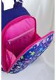 Синий школьный каркасный рюкзак дсо звездами YES H-12 Stars - Фото 6