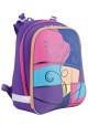 Цветной школьный каркасный рюкзак YES H-12 Colours - Фото