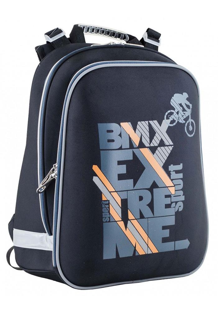 Школьный каркасный рюкзак для мальчика YES H-12 Bike - Фото спереди
