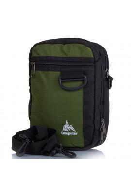 Фото Мужская сумка ONEPOLAR текстиль W3023-green