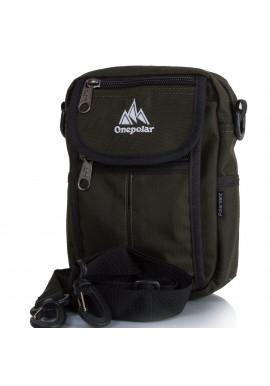 Фото Мужская сумка из ткани ONEPOLAR W4177-green