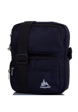 Фото Мужская сумка ONEPOLAR из ткани W5630-navy