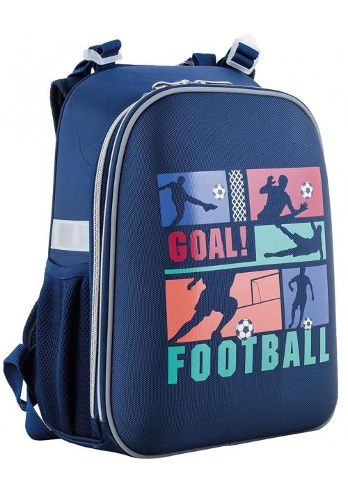 Каркасный рюкзак для первоклассника YES H-12 Football