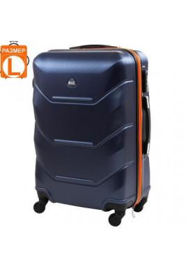 Фото Чемодан на колесах ROGAL (L) RGL720L-dark-blue-orange