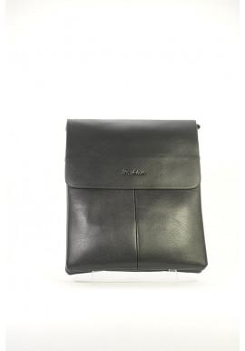 Фото Черная мужская сумка через плечо Fashion 2061-3-BLK