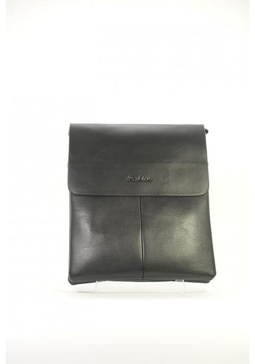Черная мужская сумка через плечо Fashion