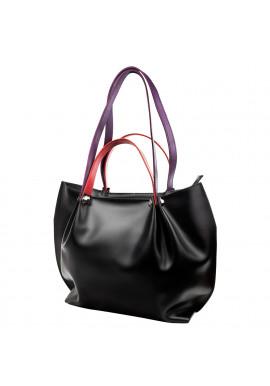 Фото Женская кожаная сумка ETERNO AN-161-black