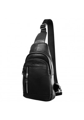 Фото Мужская сумка-рюкзак из кожи VITO TORELLI VT-6037-black