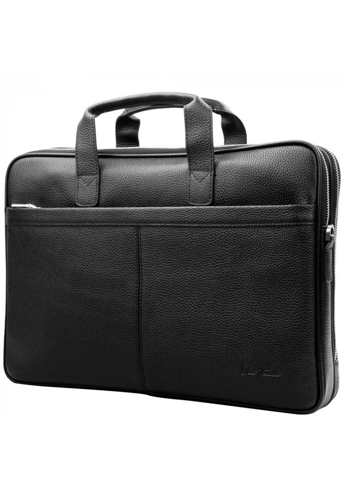 Фото Кожаный мужской портфель VITO TORELLI VT-6418-black