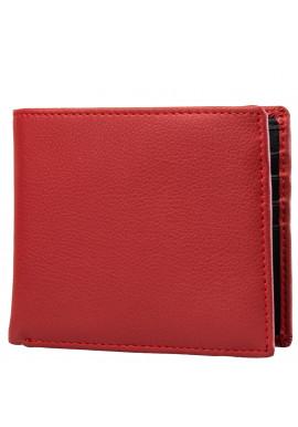 Фото Кошелек мужской кожаный SMITH&CANOVA FUL-26826-red-black
