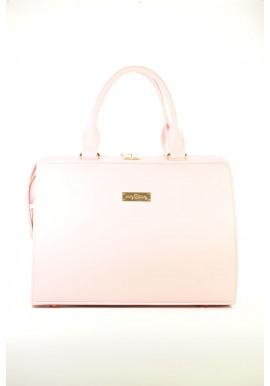 Фото Большая розовая летняя женская сумка Betty Pretty