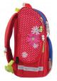 """Красный школьный рюкзак каркасный """"Smart"""" PG-11 Ladybug"""