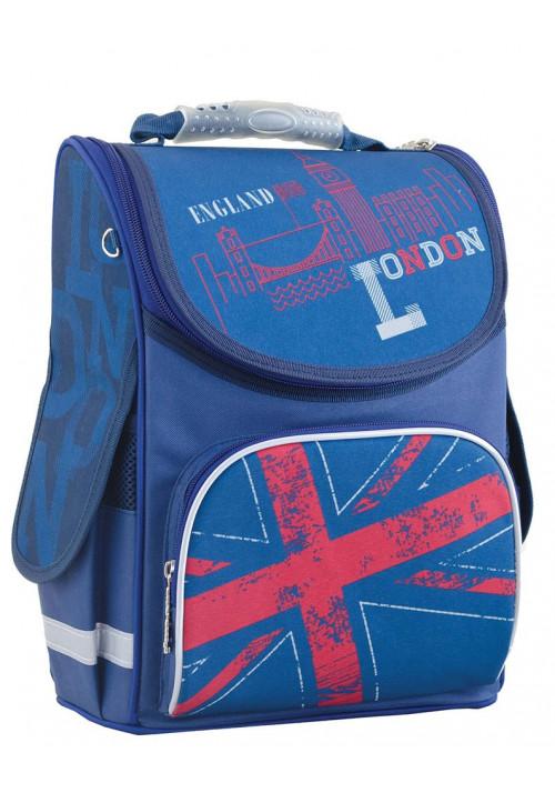 """Рюкзак школьный ортопедический с флагом """"Smart"""" PG-11 London"""