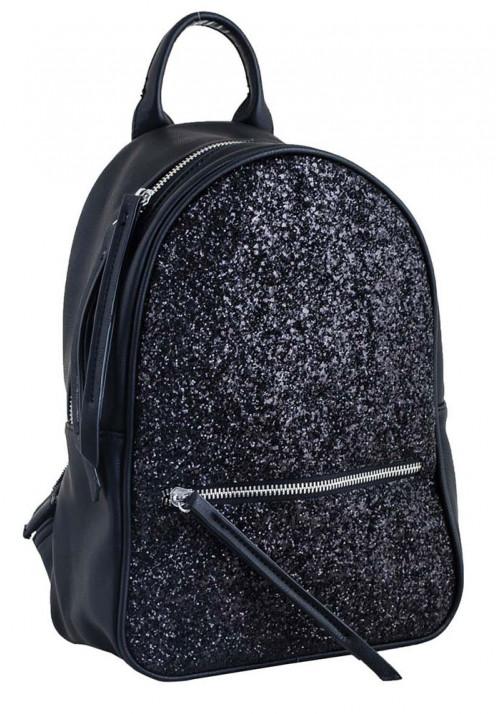 Модный черный молодежный рюкзак YES WEEKEND