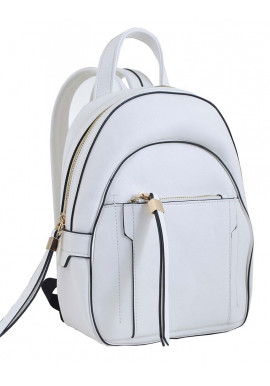 Фото Маленький белый молодежный рюкзак YES WEEKEND