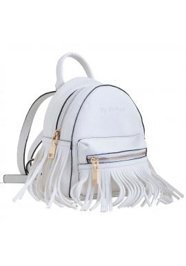 Фото Белый молодежный рюкзак маленького размера YES WEEKEND