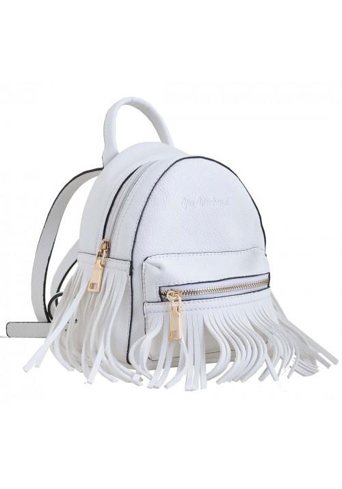 Белый молодежный рюкзак маленького размера YES WEEKEND