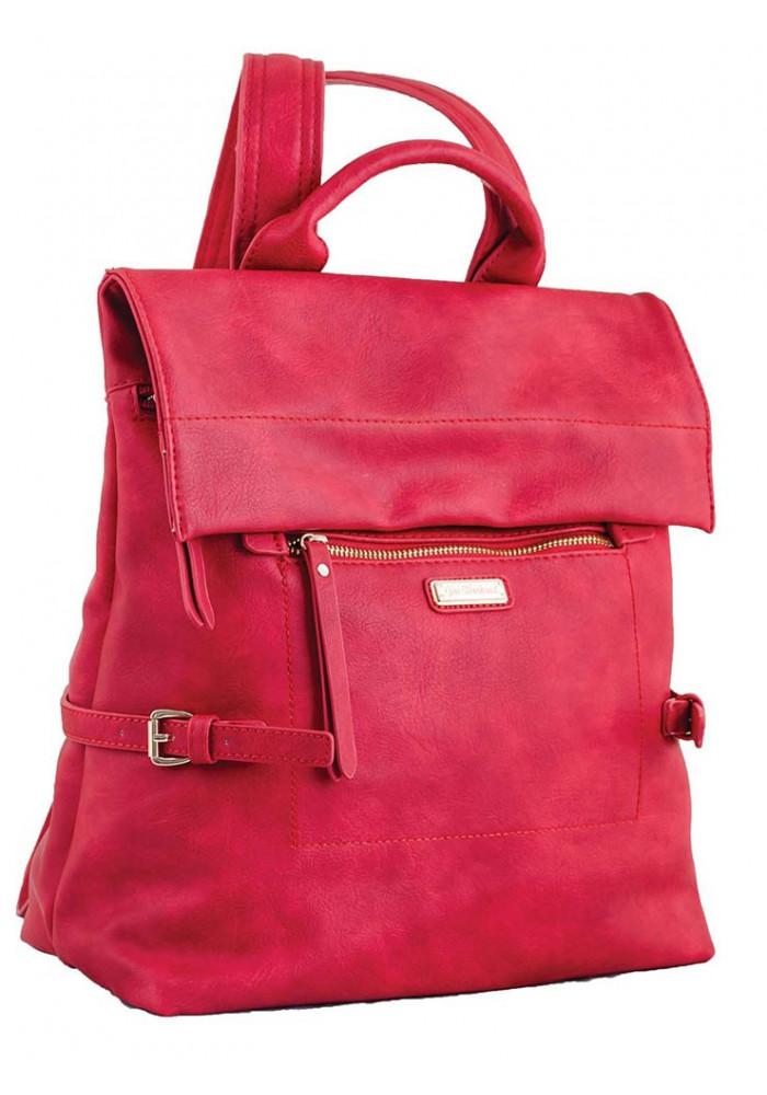 Красный женский рюкзак-сумка YES WEEKEND
