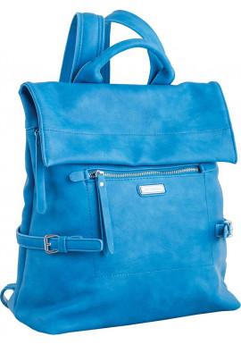 Голубой женский рюкзак-сумка YES WEEKEND