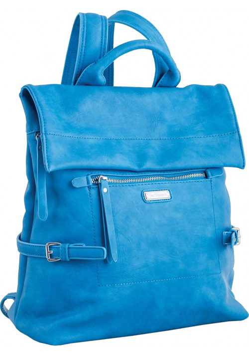 Голубой молодежный рюкзак YES WEEKEND