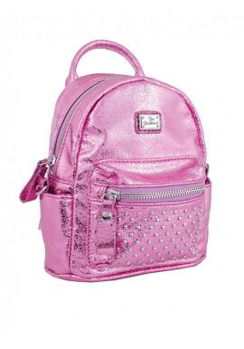 Розовый женский рюкзак мини YES WEEKEND