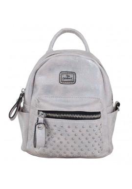 Фото Маленький серый рюкзак женский YES WEEKEND