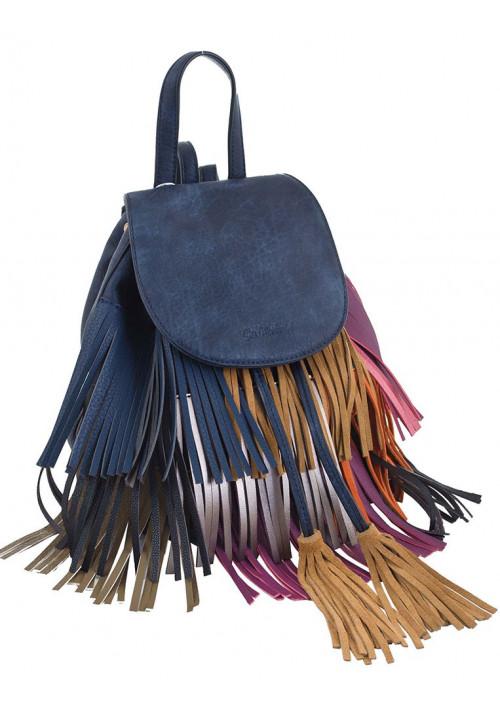 Небольшой молодежный рюкзак с бахромой YES WEEKEND