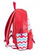 Красный женский молодежный рюкзак YES WEEKEND, фото №2 - интернет магазин stunner.com.ua