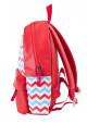 Красный женский молодежный рюкзак YES WEEKEND, фото №3 - интернет магазин stunner.com.ua