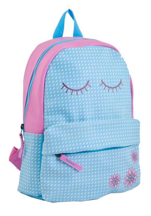 Голубой женский подростковый рюкзак YES WEEKEND