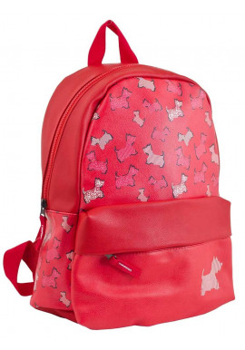 Фото Красный рюкзак для подростка YES WEEKEND