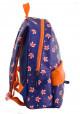 Фиолетовый рюкзак из искусственной кожи с лисичками YES WEEKEND, фото №2 - интернет магазин stunner.com.ua