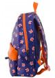 Фиолетовый рюкзак из искусственной кожи с лисичками YES WEEKEND, фото №3 - интернет магазин stunner.com.ua