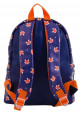 Фиолетовый рюкзак из искусственной кожи с лисичками YES WEEKEND, фото №4 - интернет магазин stunner.com.ua
