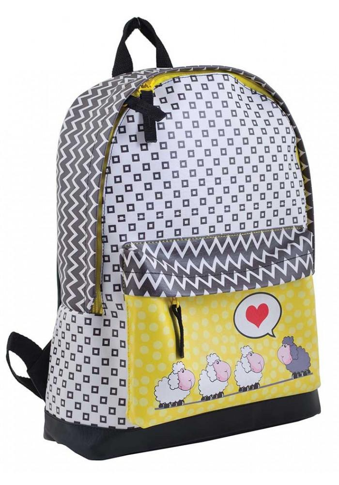 Фото Модный рюкзак для подростка с овечками YES WEEKEND