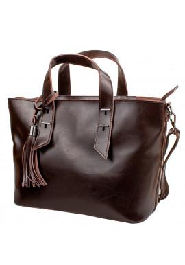 Фото Женская кожаная сумка ETERNO 2031-10 Brown