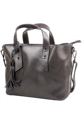 Фото Женская кожаная сумка ETERNO DETAI2031-9 Grey