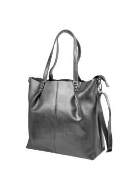 Фото Женская кожаная сумка ETERNO 2020-9 Grey